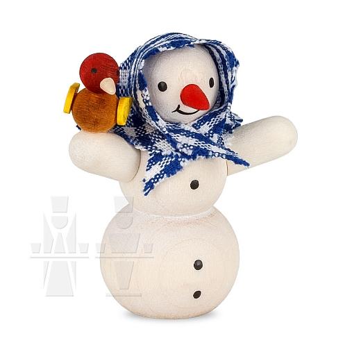 Schneemannmädchen gebeizt von Ulmik