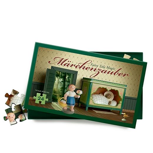 """Märchenpuzzle """"Rotkäppchen und der Wolf"""" 24 Teile"""