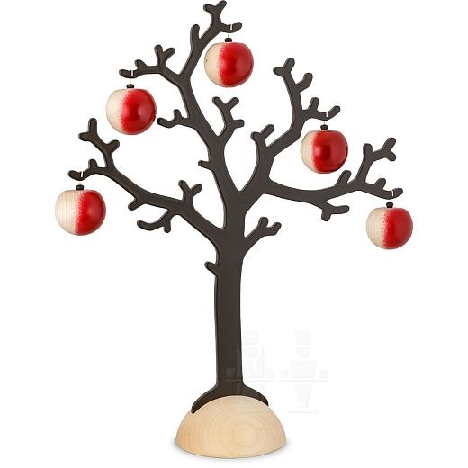 Maxi Apfelbaum mit 5 Äpfeln groß