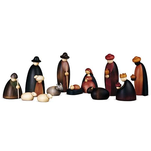 Krippenfiguren 12 teilig 17 cm groß
