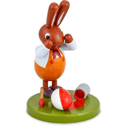 Hase mit Farbeimer 8 cm
