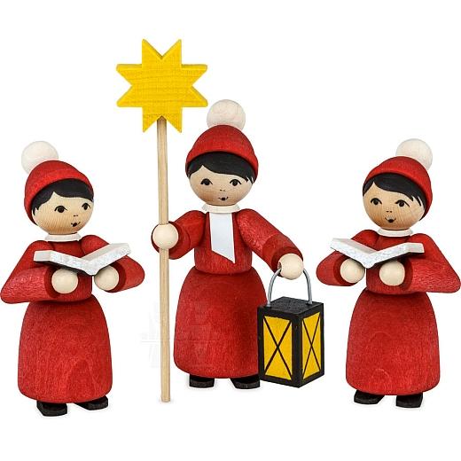 Weihnachtsmarkt Kurrende rot gebeizt von Ulmik