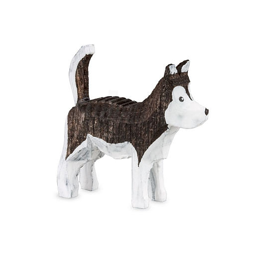 Huskey gebeizt dunkelbraun