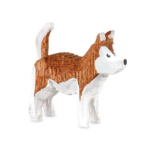 Huskey gebeizt rotbraun