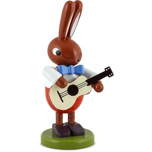 Hase mit Gitarre 8 cm