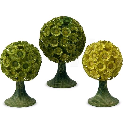 Blumenbäume grün