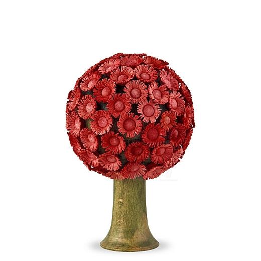Blütenbaum rot 6 cm