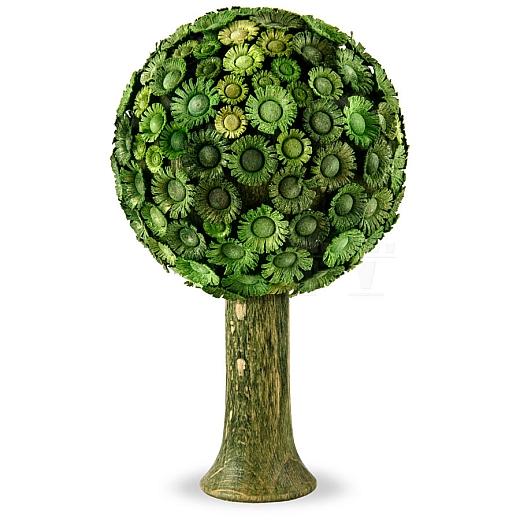 Blütenbaum grün 7,5 cm