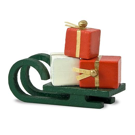 Schlitten mit Geschenke