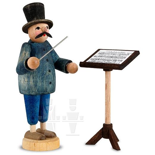 Dirigent mit Notenständer