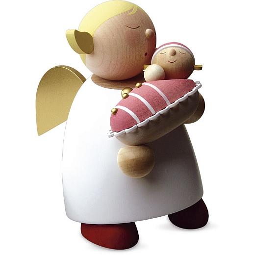 Schutzengel Größe 5 mit Baby, Mädchen