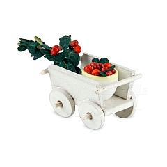 Handwagen mit Kirschen