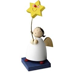 Schutzengel mit Stern am Stab