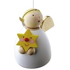 Schutzengel mit Stern schwebend