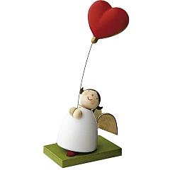 Schutzengel mit Luftballonherz