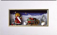 "Wandbild ""Weihnachtsland"""