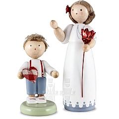 """Jahresfigur 2013 """"Für meine Mama"""" mit kleinem Jungen"""