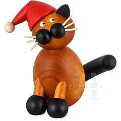 Weihnachtskatze Onkel Bommel