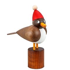 Weihnachtsmöwe klein graue Flügel