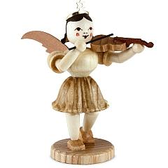 Kurzrockengel Naturholz Violine