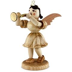 Kurzrockengel Naturholz Trompete