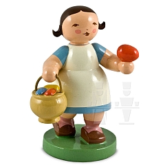 Girl with egg basket
