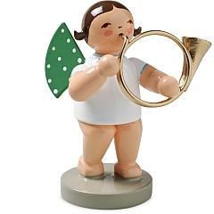 Engel mit Basshorn