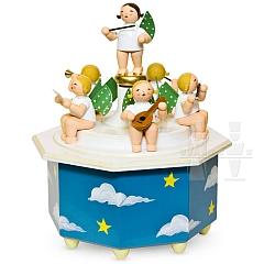 Spieldose Engelmusikanten