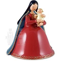 Madonna mit Christkind, einfach bemalt
