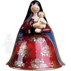 Madonna mit Christkind, reich bemalt