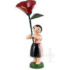 Feldblumenmädchen mit Winde