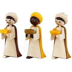 Heilige 3 Könige 7 cm gebeizt