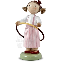 "Annual Figurine 2009 ""Girl with a Hoop"""