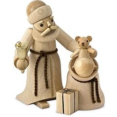 Weihnachtsmann mit Sack natur von Ulmik