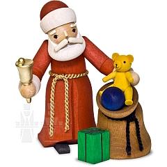Weihnachtsmann mit Sack • gebeizt