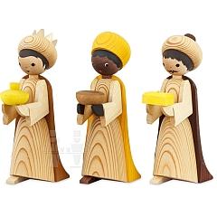 Heilige 3 Könige 22 cm gebeizt