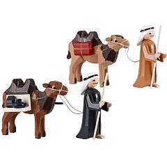 Treiber mit Kamel 7 cm lackiert