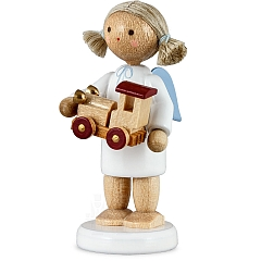 Engel mit Spielzeugauto
