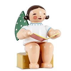 Engel klein mit Buch von Wendt & Kühn