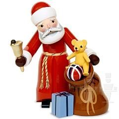 Weihnachtsmann mit Sack rot von Ulmik