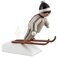 Skispringer braun