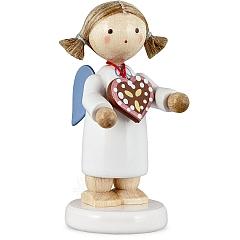 Engel mit Lebkuchenherz