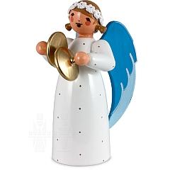 Engel mit Becken weiß
