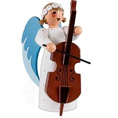 Engel mit Bass weiß