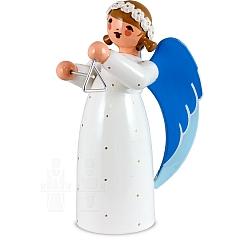 Engel mit Triangel weiß