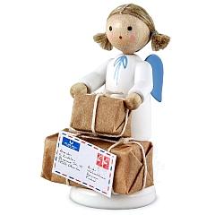 Engel mit Weihnachtspaketen