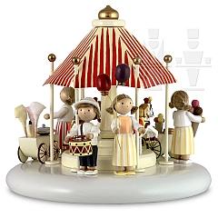 Spieldosen Szene Kinderfest