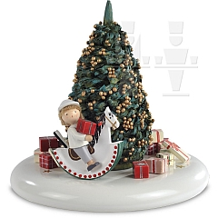 Spieldosen Szene Der Weihnachtsabend