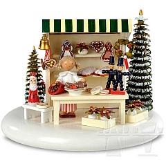 Spieldosen Szene Weihnachtsmarkt 2014