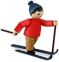 Langläufer Skater • gebeizt